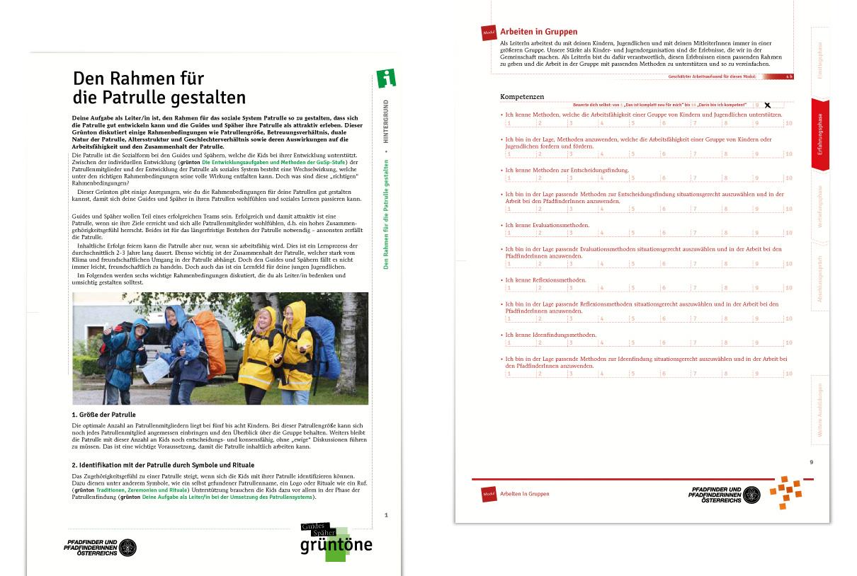 Training & education: PPÖ grüntöne, ausbildung neu
