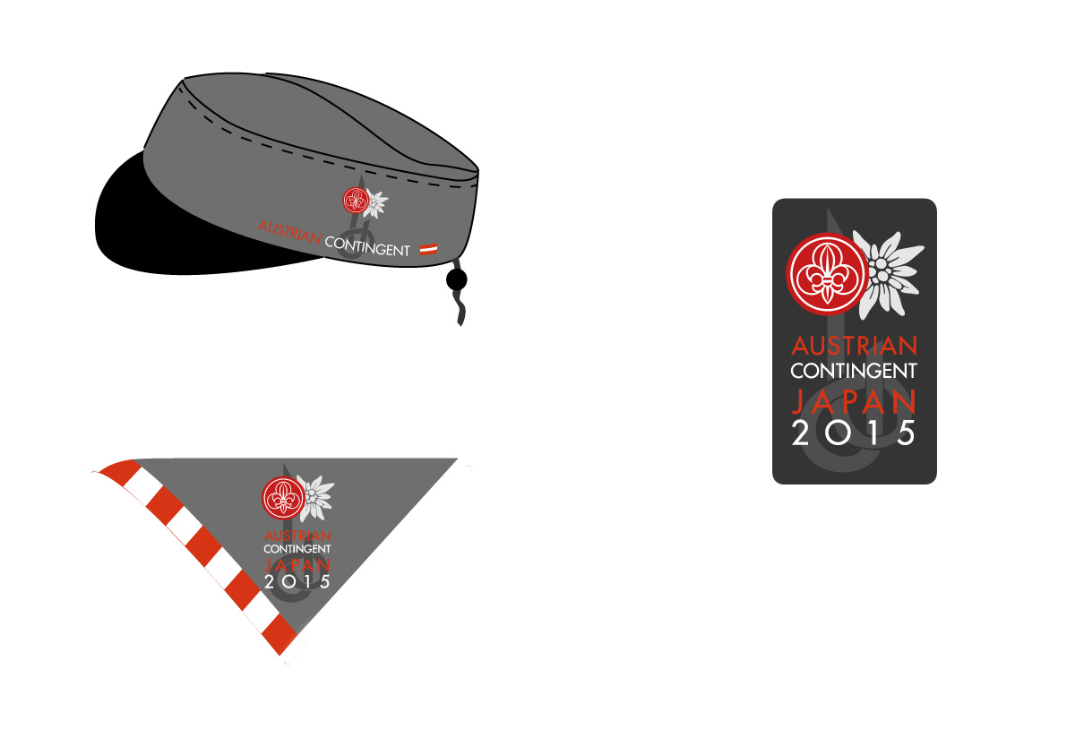 Badges & equipment: World Scout Jamboree contingent 2015