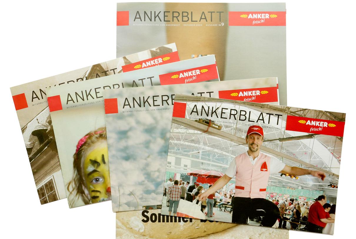 Editorial Design: Ankerblatt