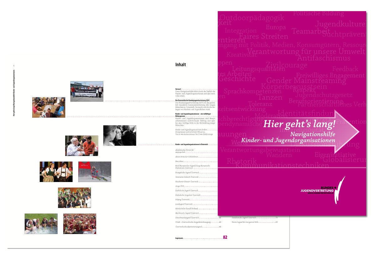 Editorial Design: Hier geht's lang (BJV)