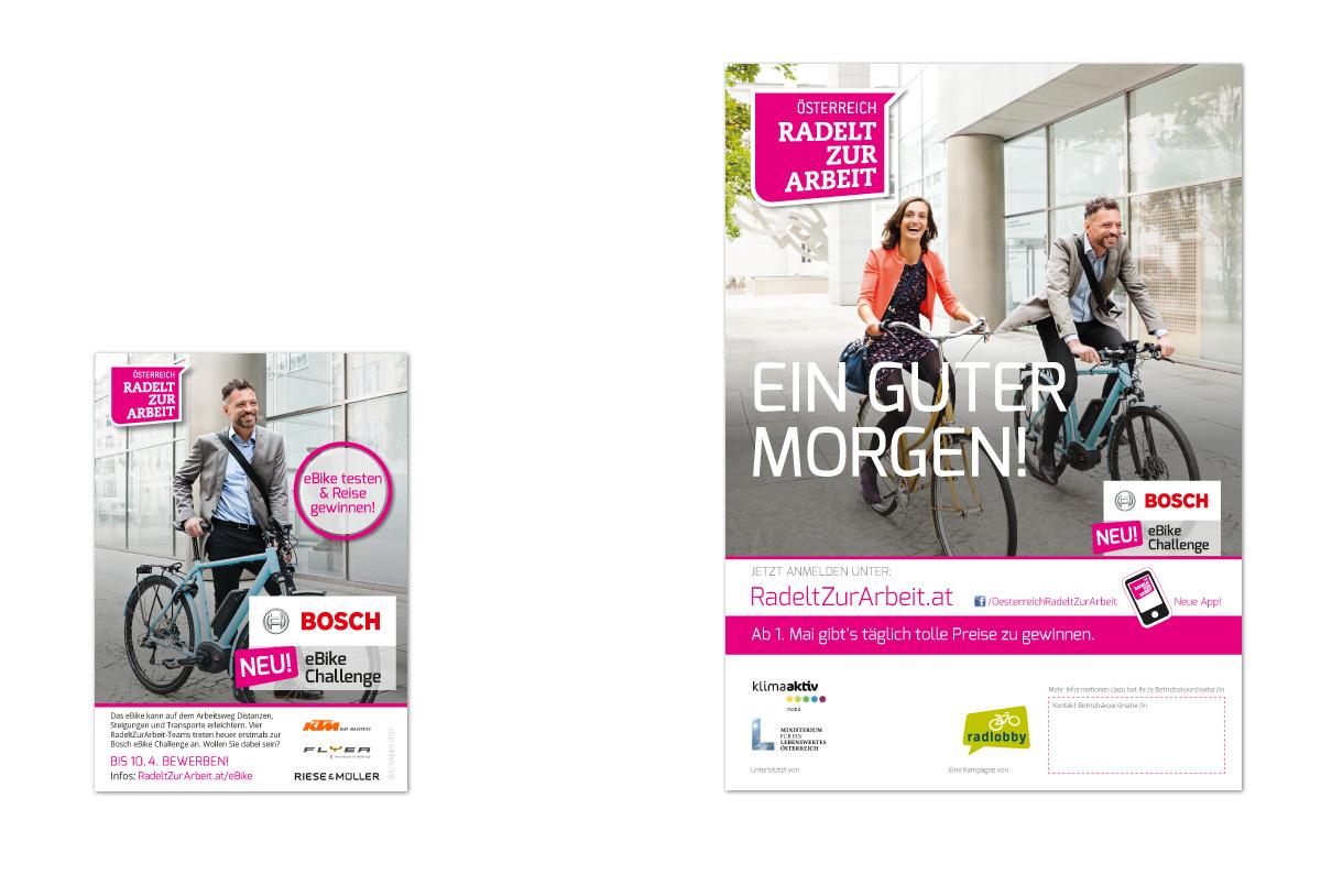 Österreich radelt zur Arbeit - Kampagne der Radlobby