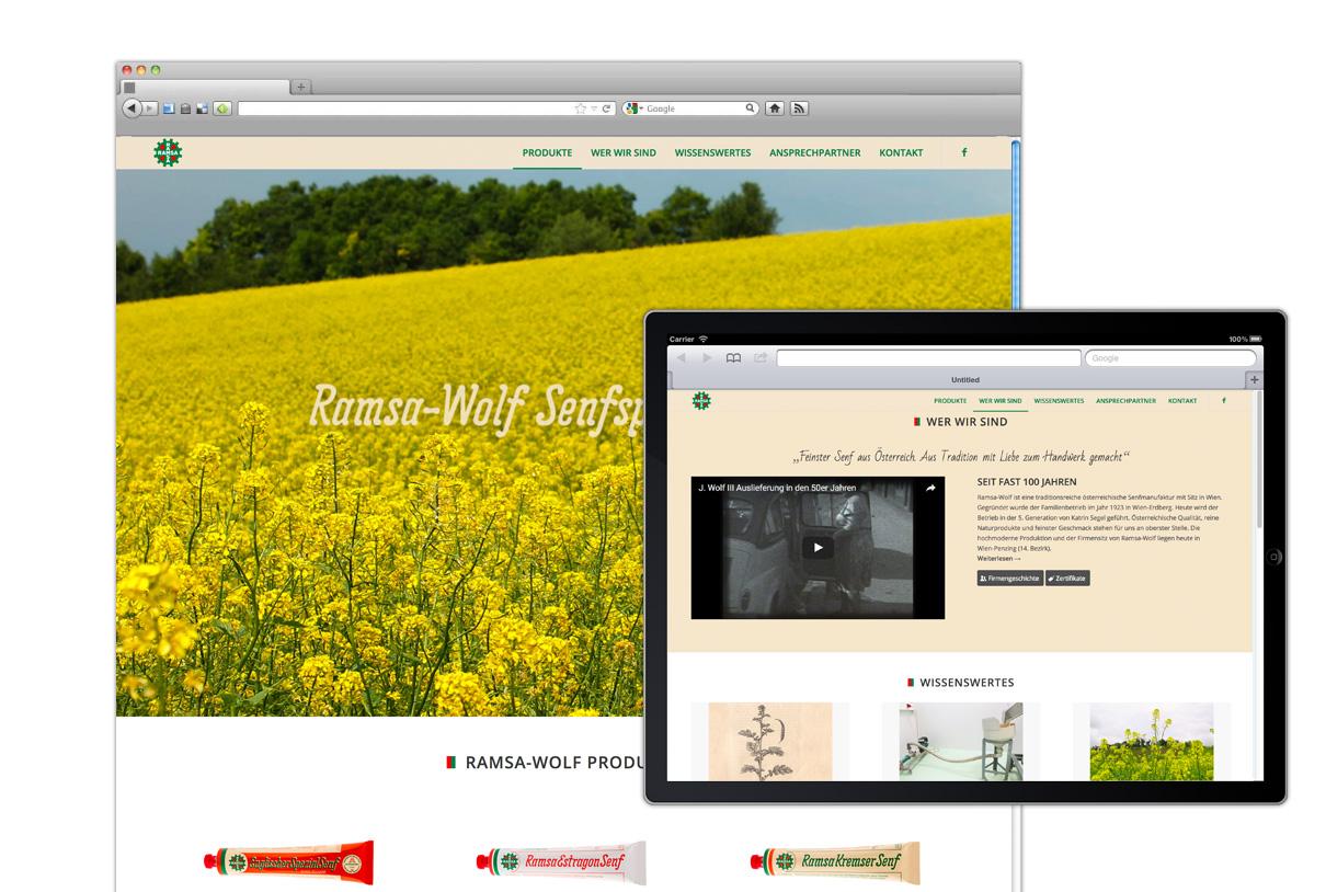 Web design: ramsa-wolf.at